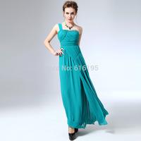 Free Shipping Fashion Uncommon 2014 Green Dress