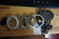 Free shipping ! 2014 Natural Myanmar jade Classic bracelets Bangle Size 56mm