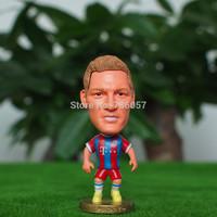 New !14-15season Free shipping retailing football star doll/toy figure of super star bastian schweinsteiger in BM football gifts