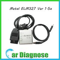 Best Quality Metal ELM327 Ver 1.5a Software OBD2 code reader USB CAN-BUS Scanner ELM 327 Metal v1.5a