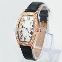 Top Brand  leather Watch Japan movement Brand Watches high quality women/men watch quartz crystal watch