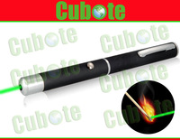 Cubote C7 532nm 80mw Green Laser Pointer Can Burn Matches (Black)