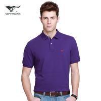 2014 summer for SEPTWOLVES short-sleeve T-shirt men's clothing male t-shirt 100% 602777w cotton t shirt