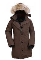 Woman Winter Coat Warm Goose Jacket Women Down Parka Woman's Outerwear Slim Fur Hooded Fashion Thick Parka Free Shipping