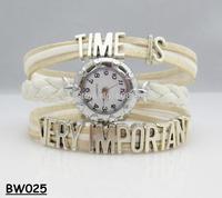 NEW 2014 Infinity Watch Alloy Bracelet Fashion Jewelry Trendy Girlfriends Bracelets Charm Watch Hand Wear Students Watch