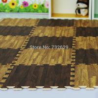 12pcs/lot per squre meter livingroom mats wood child floor mat 30*30cm eva foam mats