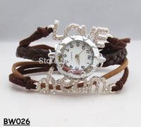 "NEW 2014 Infinity Watch Alloy Bracelet Fashion Jewelry Trendy Bracelets ""Love Dream"" Charm Watch Hand Wear Students Watch"
