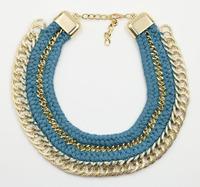 N1101 NEW 2014 retro Unique costume chocker chunky collarbone necklace for fashion women & pendant chocker bib jewelry necklace