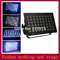 Free shipping 54*3w led stage light,led lighting par kit,professional par lamp dmx control