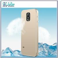 Ultrathin Matte Aluminum Case for Samsung Galaxy S5 i9600 Phone Bag Luxury Metal Cover Aluminium+Free Screen Protector