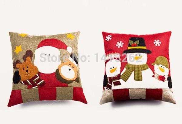 Fashion Home Pillow Christmas Ornament Christmas Supplies Christmas Decorations(China (Mainland))