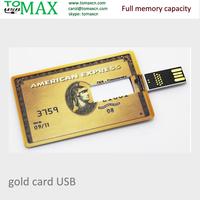 Bank credit card Pen drive USB card america express credit card flash disk 2G 4G 8G 16G 32G