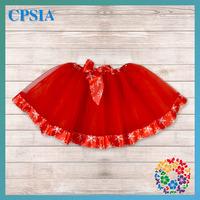 2014 New Arrival !!! baby girl tulle red tutu skirt children tutus petti skirt princess Xmas costume 48PCS