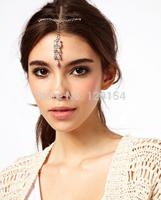 Hot Sale Vintage Rhinestone Leaf Rock Brand Bridal Hair Pins Hairgrip Hair Accessories for Women