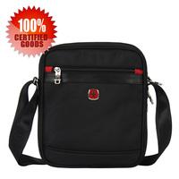 Free shipping hot sale Swiss polyester business bag men messenger bags handbags IPAD handbag SA-9726