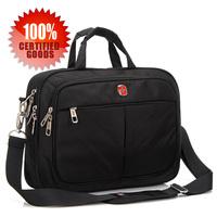 New style swiss gear men business bag nylon oxford briefbase single shoulder bag SA2102 portable free shipping