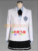 Anime Kuroko no Basuke Kise Ryota Junior High School Uniform Cosplay Women Costume (Custom Made)