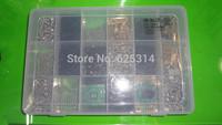 Free shipping multi-function parts storage box 18 lattice grid adjustable tool box