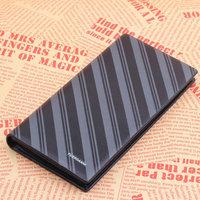 Fashion Fuerdanni genuine leather wallet 2013 mens wallet uncovered cowhide Long design 3702-3 black 03 purse