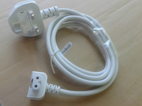 Free shipping 200pcs DHL/EMS sell Adapter UK plug Extension Power Cord cable for i Mac all series, original power cable