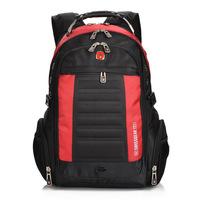 2014 new arrived men's fashion Swissgear backpack,nylon waterproof laptop backpack for women and men.