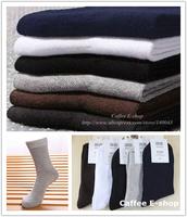 5 Pairs/Lot Cotton Business Men's Socks Thin & Medium Thick Short  2 lots 10%OFF Free Shipping