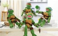 4pcs/lot 40cm Teenage Mutant Ninja Turtles  Stuffed Animals Toys Plush Doll ,retails,small wedding toy,child gift
