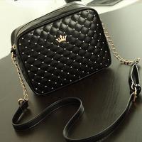 Happy Easy Buy-- Women Little Sequined Shoulder Bag-- Crown Messenger  Bag-- Chain Shoulder Bag