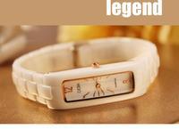 2014 New Brand Fashion GEDI Women Dress Watches Gold Clock Casual Ladies Wristwatch Quartz Watch Ceramic Analog Display Relogio