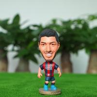 """Soccer Player Suarez(B) 2.5"""" Toy Doll Figure 2014-2015 season"""