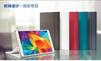 1:1  For Samsung Galaxy Tab S 8.4 inch T700 T705 Cover  Flip Folio Luxury Leather Stand Book Smart Cover Ultra Thin 1PCS