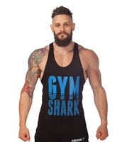 2014 cotton Sleeveless sport tops Gym bodybuilding tank top men Casual world of tanks brand tracksuits men vest fitness clothes