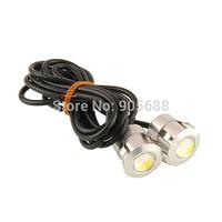 100pairs/lot White LED Eagle Eye Backup Reverse Tail Parking Light Blub Lamp 1.5W