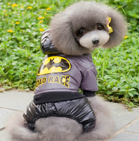 Pet Products 2014 New Arrival Cute Dog clothes Fall and Winter clothes for dogs Pet dog Four legs Windbreaker