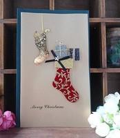 Free shipping hot selling 5pcs/lot new design Europe fashion high standard greeting card Christmas cartoon 3D beautiful cards
