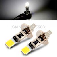 2x H1 COB LED White Fog Driving Parking Light Lamp Bulbs Car
