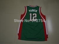 #12 Jabari Parker Jersey,New Material Rev 30 Basketball jersey,Best quality,Authentic Jersey,Size S--XXXL,Accept Mix Order