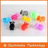 Free shipping Pig Holders Bracket Big Suction Silicone Cupula 1000pcs/lot Wholesale