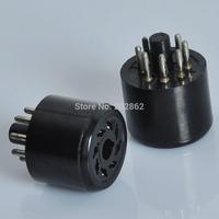 2pcs 8Pin Noval Vacuum Tube Saver Socket Testing