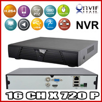 New 16CH 720P HDMI Full CCTV NVR H.264 Network Video Recorder Support CMS ONVIF 2.0 system for IP camera Mobile Phone View