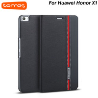 Huawei Honor X1 case,Torras Brand Sincere Series Flip leather back cover case for Huawei Honor X1 With Screen Protector