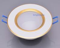 "Cutout 70mm Bridgelux 2.5"" 3W 9W LED light LED down lights LED down lamps (D102G)"