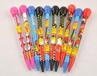 Free shipping,Creative Matchstick Design Ballpoint Pen,Colorful Ball-point Pen,0.5mm