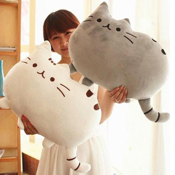 40*30cm Plush Toy Stuffed Animal Doll Talking Animal toy Pusheen Cat For Girl Kid Kawaii Cute Cushion Brinquedos Free Shipping(China (Mainland))