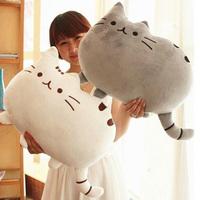 40*30cm Plush Toy Stuffed Animal Doll Talking Animal toy Pusheen Cat For Girl Kid Kawaii Cute Cushion Brinquedos Free Shipping