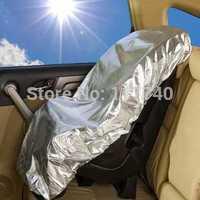 Children's car safety seat sun shade dustproof set of sun shield block ultraviolet light and heat insulation of general