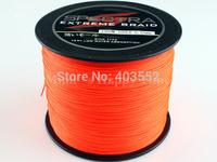 PE Dyneema Braided Fishing Line 500M Orange 20LB 0.20mm 547 Yard Spectra Braid