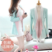 2014 autumn elegant slim blazer small fresh fashion suit female outerwear