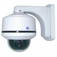 3 Inch Wall Installation Mini High Speed Dome PTZ Camera 700TVL EDS-10XHSW-700 home  security surveillance