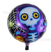 Free shipping 50pcs/lots wholesales 18 inch Halloween ghosts balloon , Happy birthday balloon , cartoon balloon